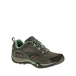 Merrell - Khaki 'Azure waterproof' women's hiking shoes