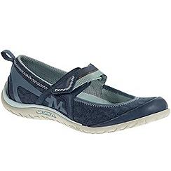 Merrell - Blue 'Enlighten eluma breeze' womens casual sports shoes