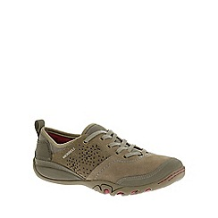 Merrell - Light brown 'Mimosa hope' womens casual sports trainers