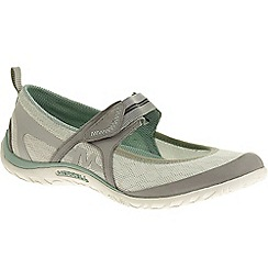 Merrell - Grey 'Enlighten eluma breeze' womens casual sports shoes