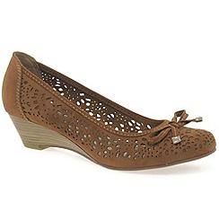 Marco Tozzi - Tan 'kezia' womens casual shoes