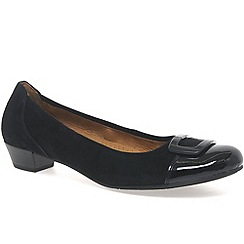 Gabor - Black 'Intelligent' Modern Dress Comfort Shoes