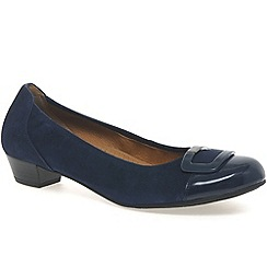 Gabor - Navy 'Intelligent' Modern Dress Comfort Shoes