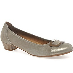 Gabor - Beige 'Intelligent' Modern Dress Comfort Shoes