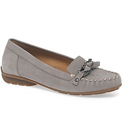 Gabor - Beige 'casa' womens nubuck casual shoes