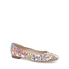 Peter Kaiser - Multi-coloured 'Katri' womens leather ballet pumps