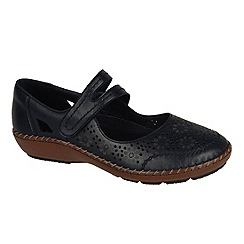 Rieker - Black 'Crush' womens casual shoes