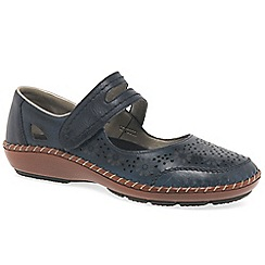 Rieker - Navy 'Crush' Womens Casual Shoes