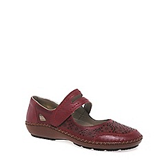 Rieker - Red 'Crush' Womens Casual Shoes