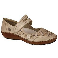 Rieker - Dark cream 'Crush' Womens Casual Shoes