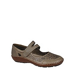 Rieker - Beige 'Crush' womens casual shoes