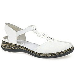 Rieker - White Mia women's sandals
