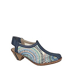 Rieker - Blue 'Louise' womens sandals