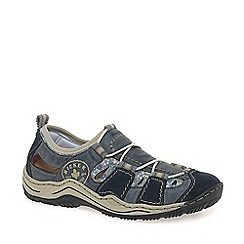 Rieker - Blue 'Bungee' womens casual sports shoes