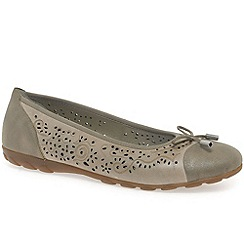 Rieker - Beige 'Pretty' womens casual shoes