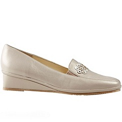 Van Dal - Beige 'Napa II' women's wedge heel shoes