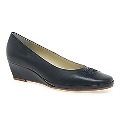 Van Dal - Navy 'Port' womens casual shoes