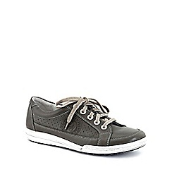 Josef Seibel - Grey 'Dany 21' womens casual lace up trainers