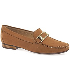 Maria Lya - Tan 'dalila' womens moccasin shoes