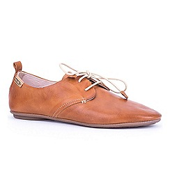 Pikolinos - Brown 'Calabria' womens fashion casual shoes
