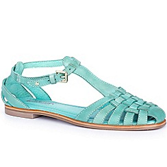 Pikolinos - Turquoise 'Menorca' Womens T Strap Sandals