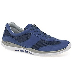 Gabor - Blue 'Helen' women's sports trainers