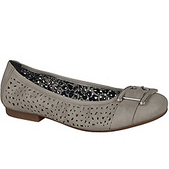 Rieker - Beige 'Preston' women's casual shoes