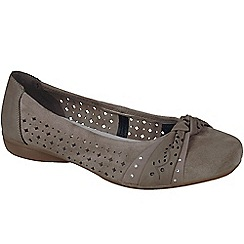 Rieker - Taupe 'Petra' womens casual shoes