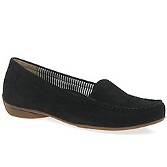 Gabor - Black 'Columbia' Womens Casual Slip On Shoes