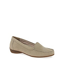 Gabor - Beige 'Columbia' Womens Casual Slip On Shoes