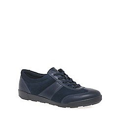 Ecco - Navy 'Crisp II' womens casual trainers