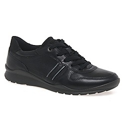 Ecco - Black 'Mobile III' Womens Casual Trainers
