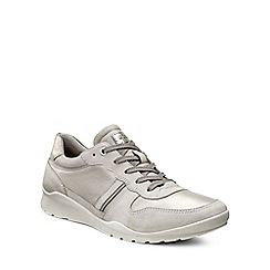 Ecco - Light grey 'Mobile III' Womens Casual Trainers