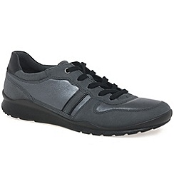 Ecco - Dark grey 'Mobile III' Womens Casual Trainers