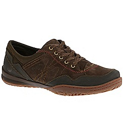 Merrell - Dark brown 'Albany Lace' Womens Casual Sports Shoes
