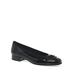 Gabor - Black patent 'Frenzy' womens casual shoes