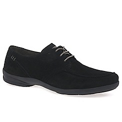 Gabor - Black 'Iman' womens lace up casual shoes