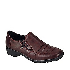 Rieker - Wine 'Calder' womens casual shoes