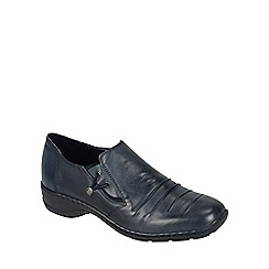 Rieker - Navy 'Calder' womens casual shoes