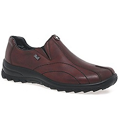 Rieker - Maroon 'Transform' womens casual shoes