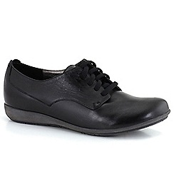 Josef Seibel - Black 'Faye 13' lace womens casual shoes