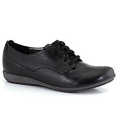 Josef Seibel - Black 'Faye 13' lace womens casual shoes