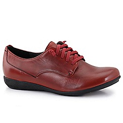 Josef Seibel - Red 'Faye 13' lace womens casual shoes