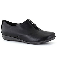 Josef Seibel - Black 'Faye 17' Zip womens casual shoes