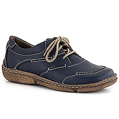 Josef Seibel - Blue 'neele 03' 3 eye womens casual shoes
