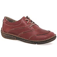 Josef Seibel - Red 'neele 03' 3 eye womens casual shoes