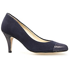 Van Dal - Navy 'Peacock' womens dress casual shoes