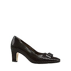 Van Dal - Near black 'Kett' womens dress casual shoes