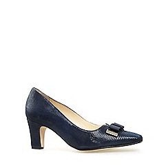 Van Dal - Navy 'Kett' womens dress casual shoes