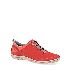 Ecco - Orange 'Arizona' Womens Casual Sports Trainers